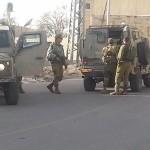 הצבא שומר- ברחובות חברון המנומנמת שבת