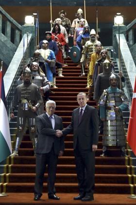 Recep Tayyip Erdogan, Mahmoud Abbas